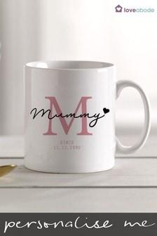 Personalised Mummy Mug by Loveabode