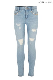 River Island Light Wash Amelie Jean