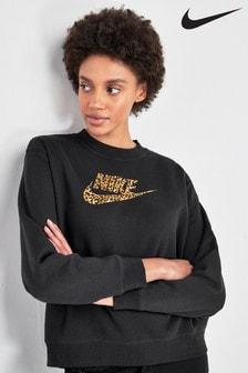 T-shirt Nike ras de cou à motif animal