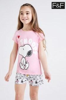 F&F Snoopy Heart Pyjamas