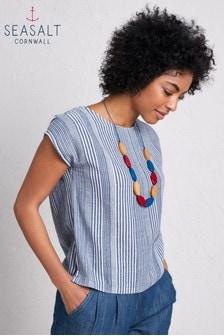 חולצת פסים דגם Picture Frame של Seasalt