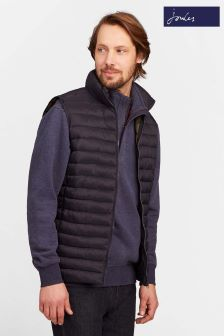 Joules Blue Upfill Layering Gilet