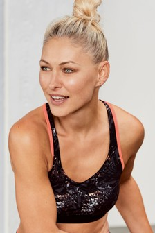Emma Willis Crop Sports Bra