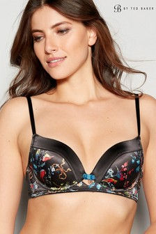 B by Ted Baker Black Opulent Fauna Balcony Bra