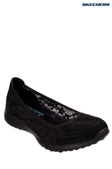 Skechers® Black Microburst Lace Shoe