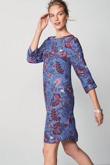 Long Sleeve Boxy T-Shirt Dress