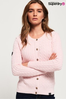 Superdry Croyde Bay Cable Knit Cardigan