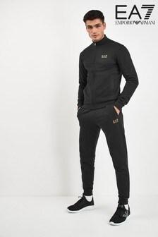 חליפת ספורט עם לוגו של EA7 בשחור