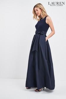 Lauren Ralph Lauren® Navy Agni Evening Dress