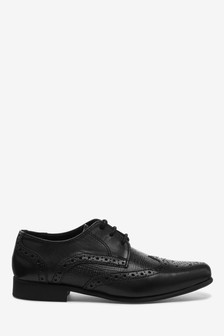 Leather Brogue Shoes (Older)