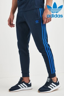 adidas Originals Navy 3 Stripe Joggers
