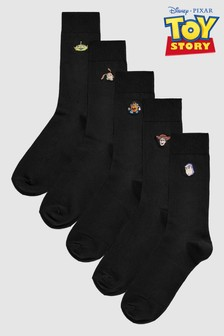 Disney™ Toy Story Embroidered Socks Five Pack