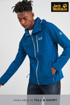 Jack Wolfskin Kanuka Point Soft Shell Blue Jacket