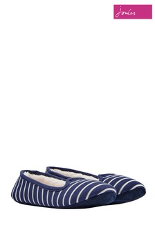 Joules Navy Stripe Dreama Slipper