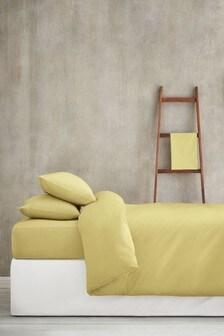 Set mit Bettbezug und Kissenbezug mit hohem Baumwollanteil