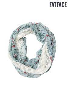 FatFace Green Harvest Floral Snood