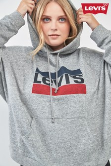 Sweat à capuche Levi's® PLUS Sports gris