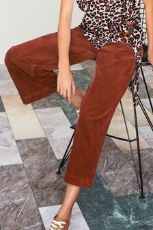 Вельветовая юбка-брюки