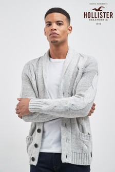 Hollister Shawl Neck Knitted Cardigan
