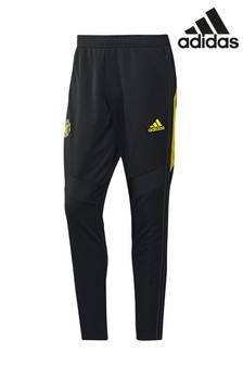 adidas Black Manchester United Training Joggers