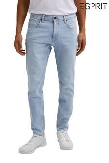 Esprit Blue Denim Straight Cut Jeans