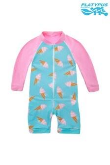 Platypus Australia Gelato Baby Long Sleeved Sunskirt Suit