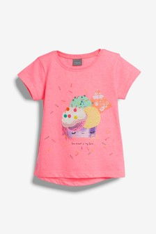 Ice Cream Short Sleeve T-Shirt (3mths-7yrs)
