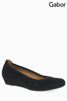 Gabor Black Chester Shoe