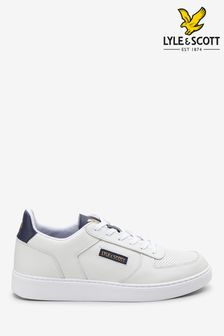 Lyle & Scott White McMahon Trainers