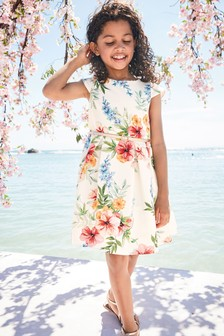 fc81b3254056dc Floral Prom Dress (3-16yrs)