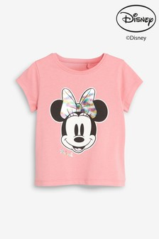b3fe279f69 Pink Iridescent Minnie Mouse™ T-Shirt (3mths-7yrs)