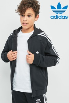 adidas Originals Spirit Radkin Black Zip Through Hoody
