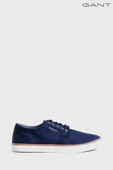 GANT Navy Bari Low Lace Shoe