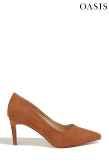 Oasis Tan Kendall Court Shoes
