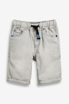 Pantalones cortos vaqueros sin cierres de punto (3-16 años)