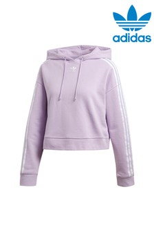 adidas Originals Lilac Cropped Hoody