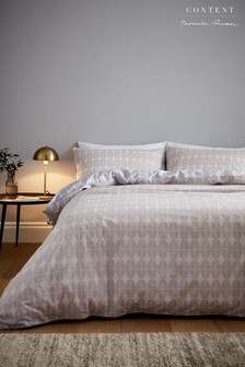 Orby Ovals Duvet Cover and Pillowcase Set by Content by Terence Conran