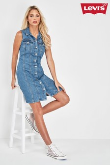 Levi's® Auberry Denim Dress
