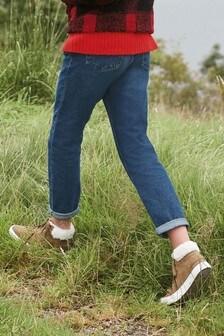 Straight Non-Stretch Jeans