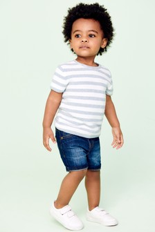 Stripe Knitted T-Shirt (3mths-7yrs)