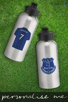 Personalised Everton Water Bottle by Personalised Football Gifts