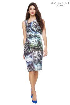 Damsel In A Dress Multi Laurita Printed Jersey Dress