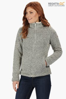 Regatta Raizel Knit Effect Bonded Full Zip Fleece