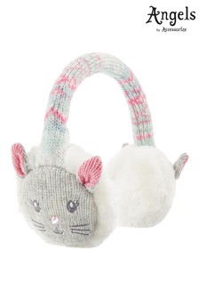 Angels By Accessorize Grey Becci Bunny Earmuff