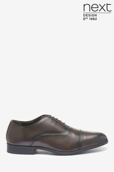 Toe Cap Oxford Shoe
