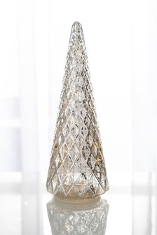 Lit Glass Tree