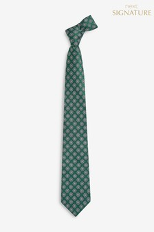 Signature Silk Crest Tie