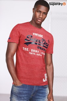 Superdry Red Script Tee