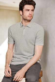 9f6b06cf0 Knitted Polo Shirts for Men | Knitted Polos | Next Official Site