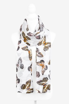 Butterfly Sparkle Lightweight Scarf